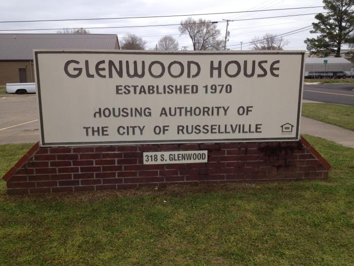 [Image: The Russellville Housing Authority operates the Glenwood House which was established in 1970 at 318 South Glenwood in Russellville, AR.]